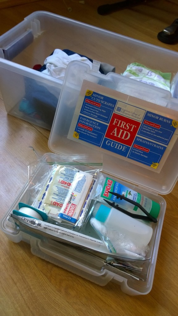 First Aid Kit For Kids | themommyclause.com