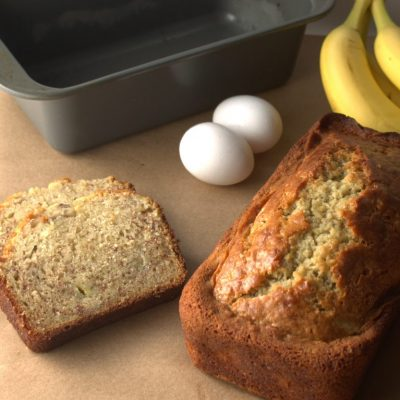 Easy Sour Cream Banana Bread