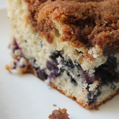 The Best Blueberry Streusel Coffee Cake